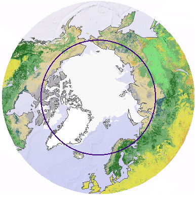 Arctic Circle, Photo courtesy UNEP/GRID-Arendal