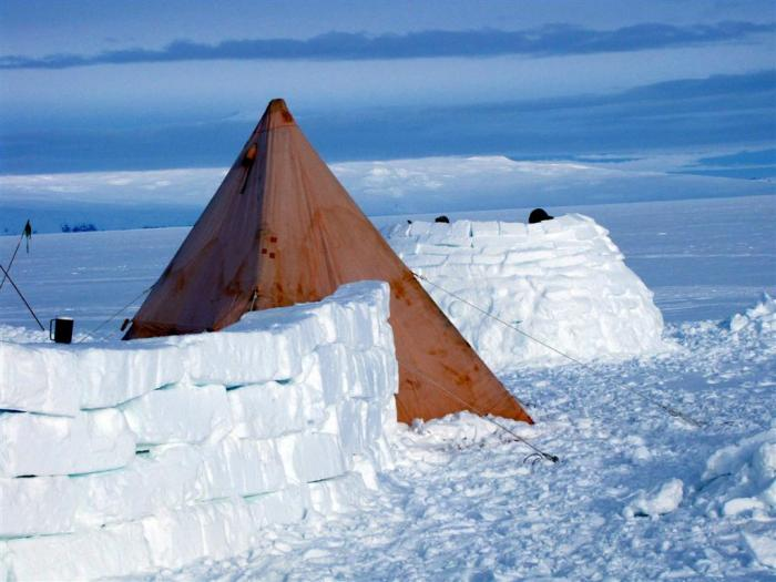 Scott tents are famous for their durability in storms. & Going Camping in Antarctica | Ice Stories: Dispatches From Polar ...