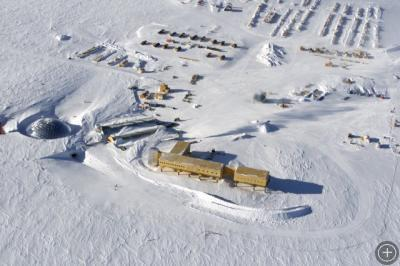 The Amundsen-Scott South Pole Station.